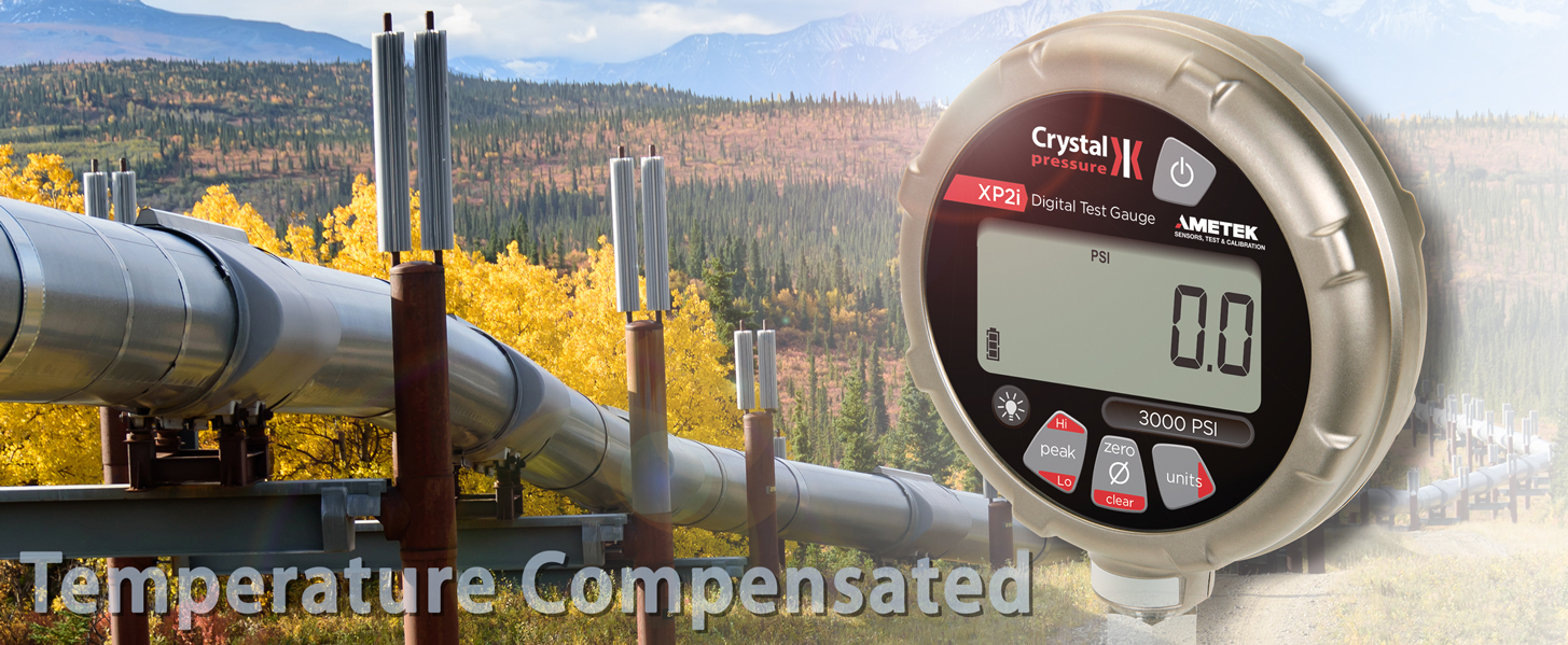 Conduct Reliable Hydrostatic Pressure Tests with the XP2i Digital Pressure Gauge